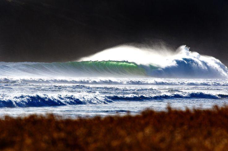 Nicaraguan Wave - March 10, 2016. A wave breaks at Playa Los Perros, Rivas, Nicaragua. Photo: Mark Johnson/Ironstring