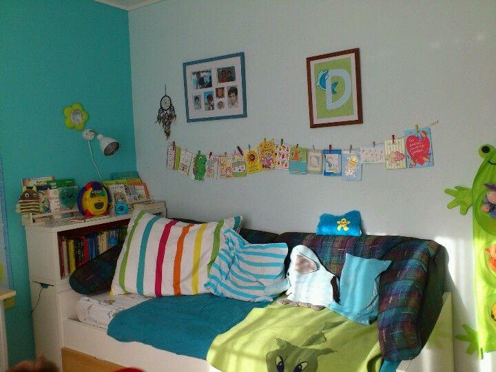 Colourful boys room