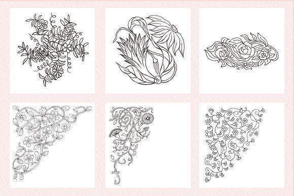 botanical batik pattern vol1  motif batik batik pattern