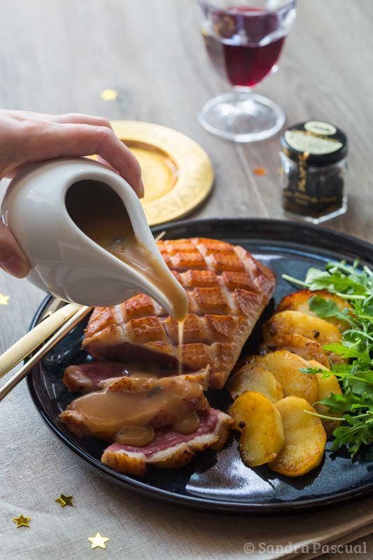 Magret de canard sauce Périgueux aux pommes fondantes testé