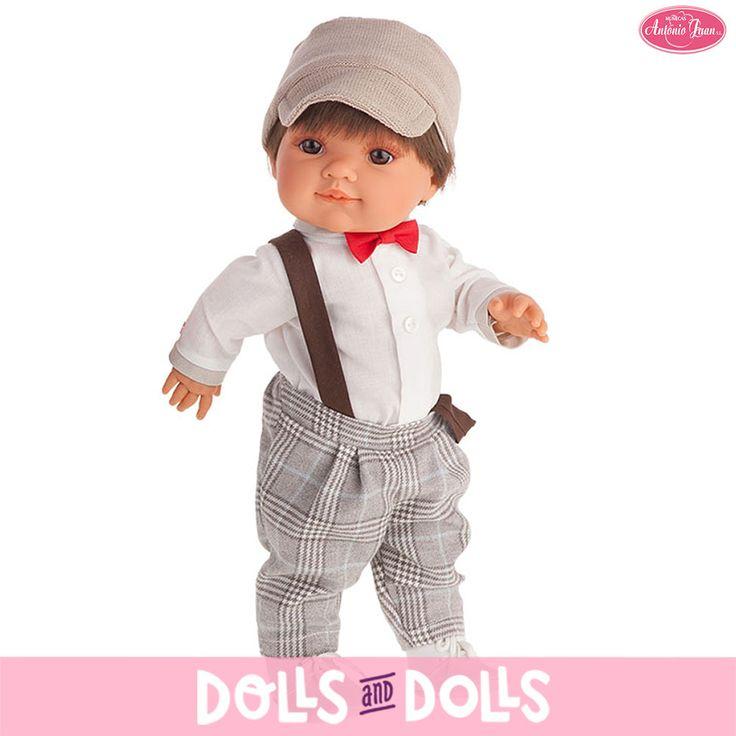 Farito es el compañero de aventuras de Farita. Es un #muñeco de la marca #Antonio Juan. Mide 38 centímetros y su cuerpo es todo de vinilo. En nuestra web lo encontrarás esperándote para divertirse contigo. 🚚 Recuerda, los envíos en España a la península te llegarán entre 24/48 horas. 🚚 #Dolls #AntonioJuanDolls #DollsMadeInSpain #MuñecasAntonioJuan