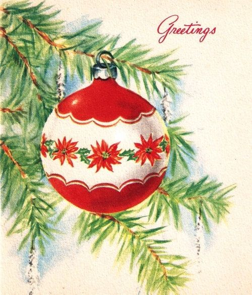 Christmas Tree Ornament (http://www.etsy.com/listing/116891464/vintage-christmas-card-pretty-tree?ref=sr_gallery_40_search_query=christmas_view_type=gallery_ship_to=CA_page=24_search_type=vintage_facet=vintage%2Fpaper_ephemerachristmas)