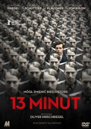 """""""13 minut"""" (""""Elser""""), reż. Oliver Hirschbiegel, scen. Léonie-Claire Breinersdorfer, Fred Breinersdorfer. Obsada: Christian Friedel, Katharina Schüttler, Burghart Klaußner, Johann von Bülow. 109 min."""