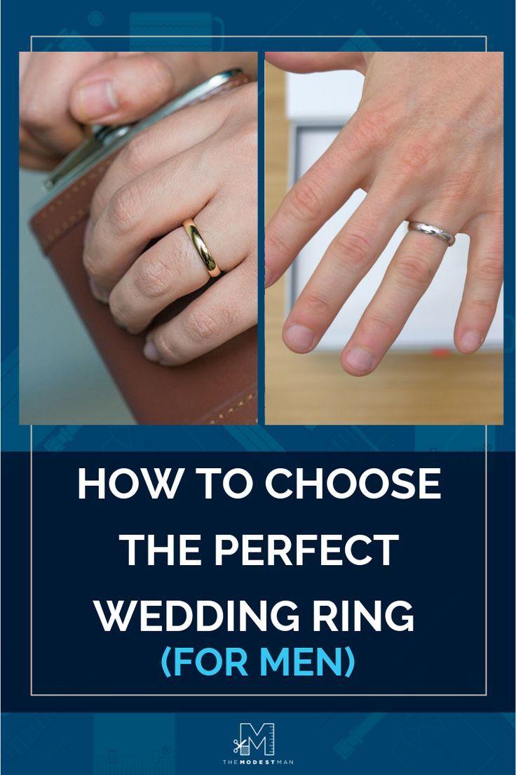 How To Choose A Men S Wedding Ring In Depth Guide With Images Mens Wedding Rings Wedding Rings Wedding Men