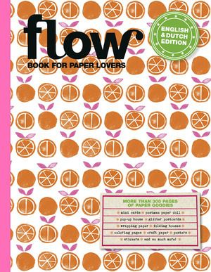 This month, the third edition of the Flow Book for Paper Lovers comes out. Another 300 paper goodies, all of which you can take out and use. Writing paper, envelopes, stickers, labels, posters, folding projects, garlands, gift-wrap, gift tags, postcards, small DIY projects and more. This time, the four artists who made the basic designs are: Marloes de Vries (the Netherlands), Suzanne Nuis (the Netherlands), Aiko Fukawa (Japan) and Tara Lilly (US).