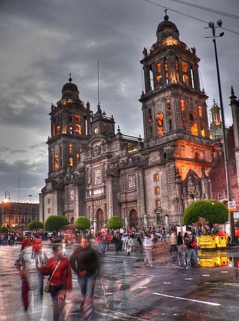 Catedral Zócalo Mexico