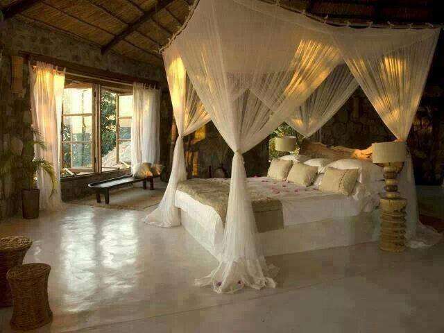 Romantic Canopy Bed Future Home Pinterest