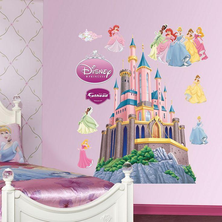 Disney Princess Castle Wall Decals by Fathead, Multicolor