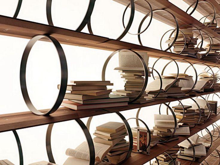 Bookshelf decorating interior design 6