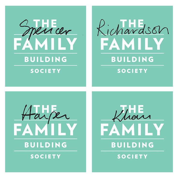 New Logo and Identity for The Family Building Society by johnson banks