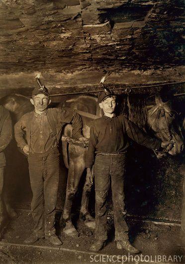 Coal mining child labour, 1908