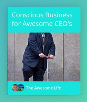 The executive summary why conscious business is the future way of successful organisations, and why personal development is the key to innovating the shizzle out of your businesses. #Innovation #CEO