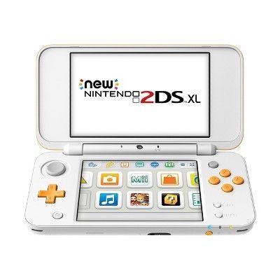 Nintendo 2DS XL - White/Orange, Black