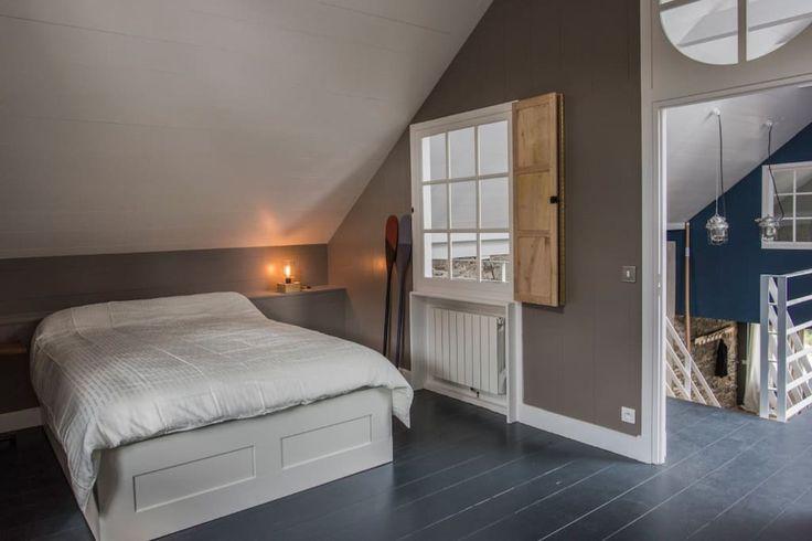 Loft de 240 m2 sur la riviére - Maisons à louer à Pontrieux