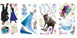 Highly Rated Frozen Wall Decals Only $11.90! #frozen #disney #kids