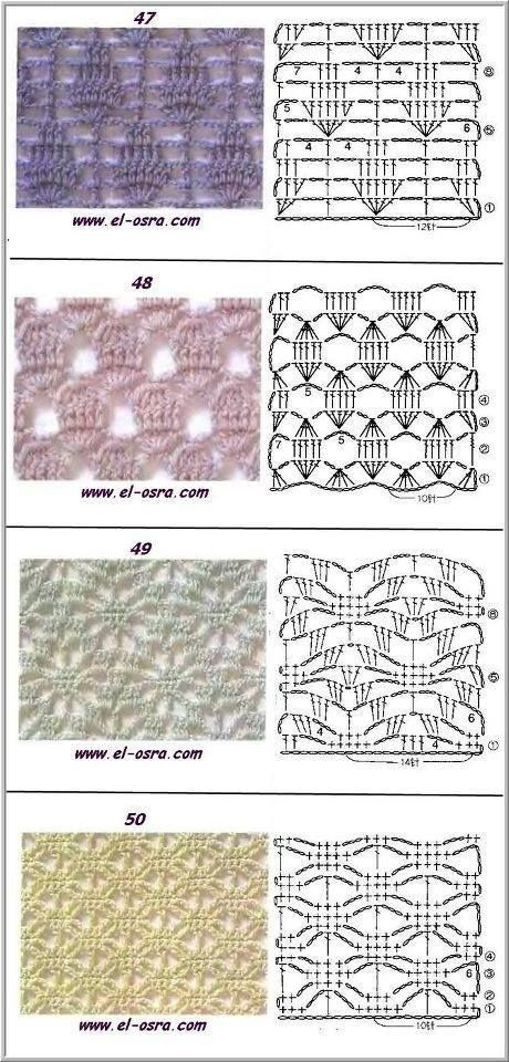 lacy lace crochet stitch