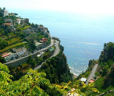 The Amalfi Coast, Italy - one of the world's craziest roads - I drove it.