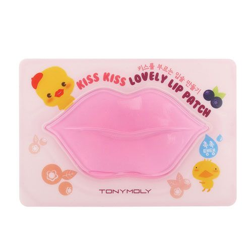 TONY MOLY Kiss Kiss Lovely Lip Patch (5P)|Tony moly|Mask sheets|Online Shopping Sale Koreadepart