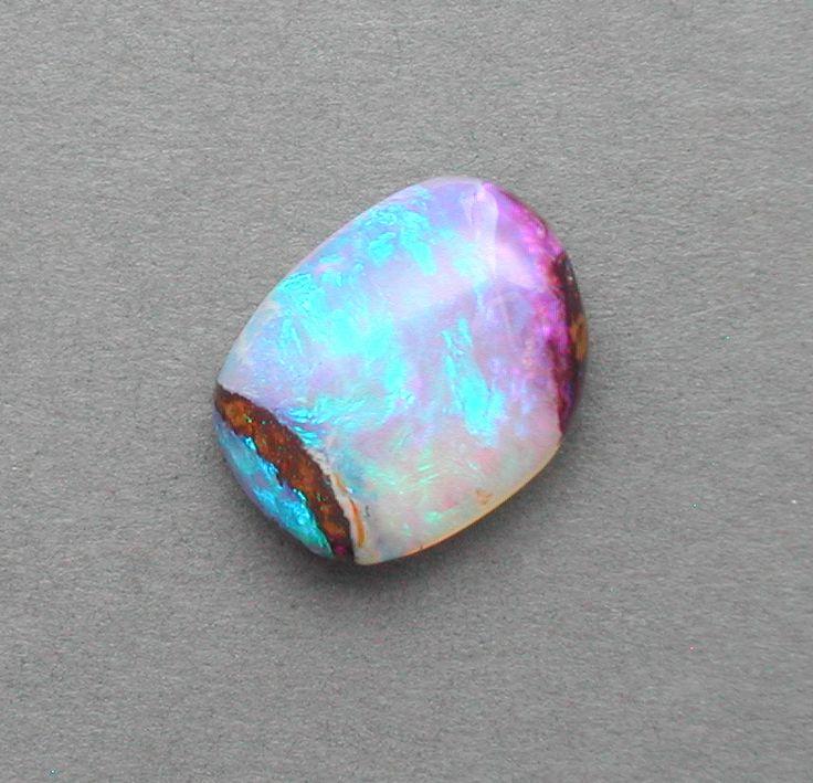 Australian crystal opal 16 x 12.5 x 7mm  8.55ct