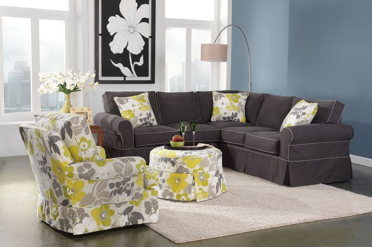 Slipcover Loveseat Sectional: Specially crafted with you in mind!