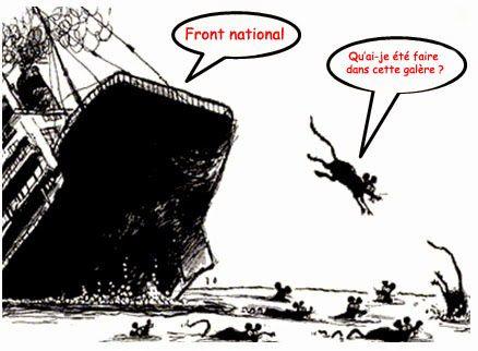 Élus Front national : les rats quittent le navire