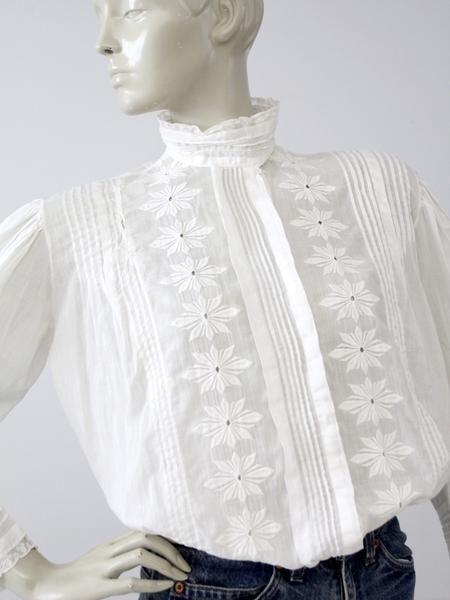 d54f023e9e6 antique Edwardian blouse