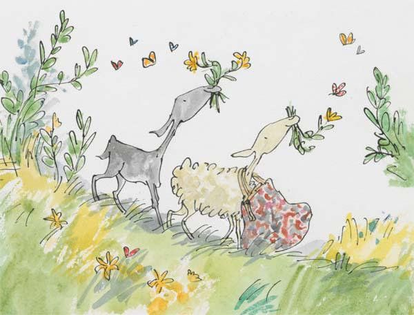 Image result for quentin blake wind