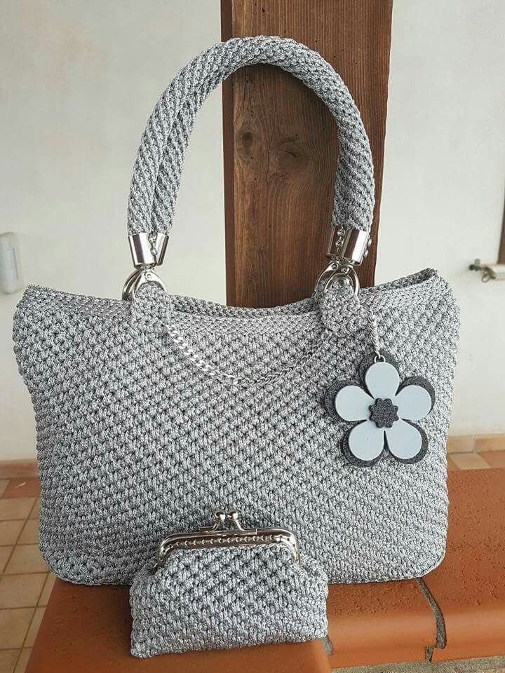 No Tutorial. Bolso, monedero crochet.
