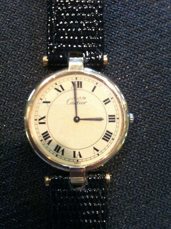Wow.... @  https://www.etsy.com/listing/150489744/genuine-must-de-cartier-watch