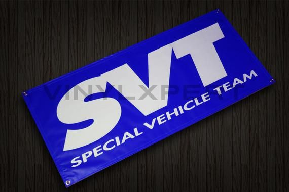 Svt 2 X4 Vinyl Banner Racing Ford Room Garage Shop Sign All Colors Vinyl Banners Shop Signs Vinyl