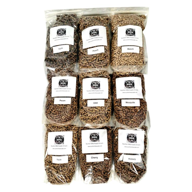 9 Varieties apple, peach, hickory, cherry, maple, oak, mesquite, pecan,beech BBQ pellets 18lbs total