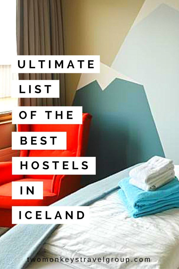 Ultimate List of the Best Hostels in Iceland