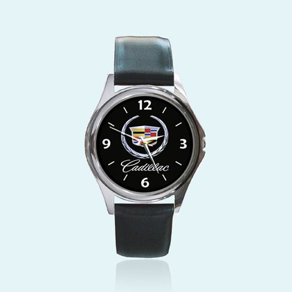 Cadillac Car America Round Metal Watch by sadamtololsain on Etsy, $13.00