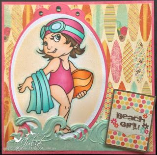 Water Baby - Wags 'n' Whiskers Julie's Craft Haven: August 2015