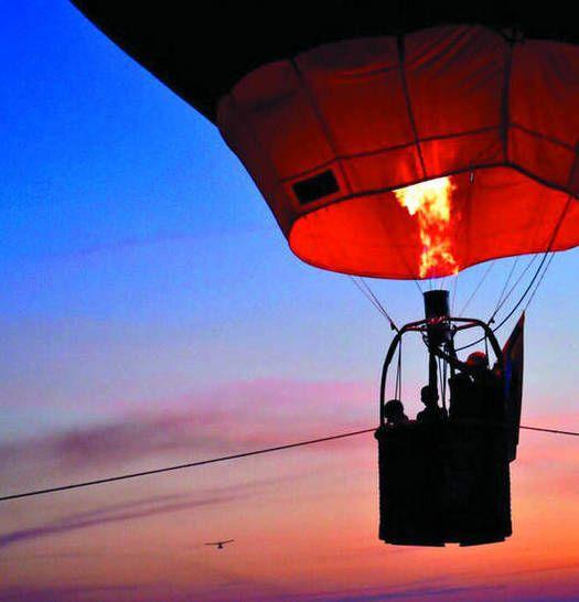 Jimmy Marull: Volar en globo es como enamorarse - Entretenimiento - Estampas