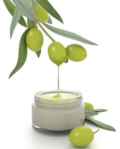 Olive oil face and skin