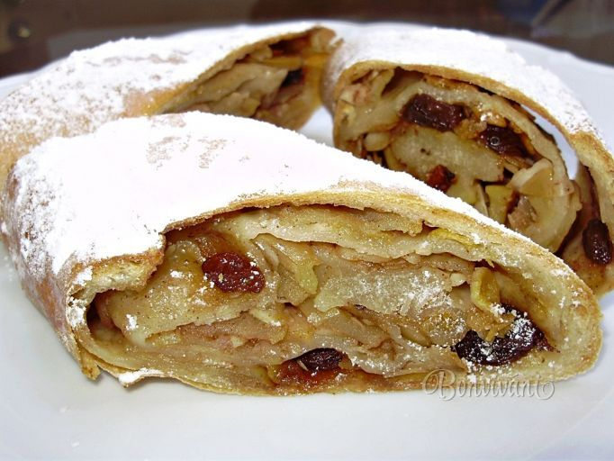 Slovak Apple Strudel - Jesenná štrúdľa (Slovak language)