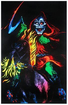 Death Rider          Blacklight Poster