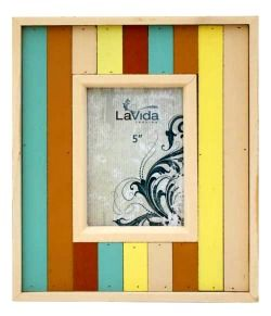Beach Stripes Photo Frame $20 @ www.graceandlace.com.au