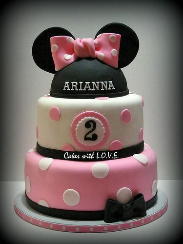 Minnie Mouse Cake: Minnie Cake, Mice, Mouse Cakes, Cake Ideas, 1St Birthday, 2Nd Bday, Minnie Mouse Cake, Birthday Cake, Party Ideas