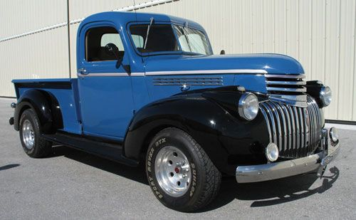 1940's chevy truck