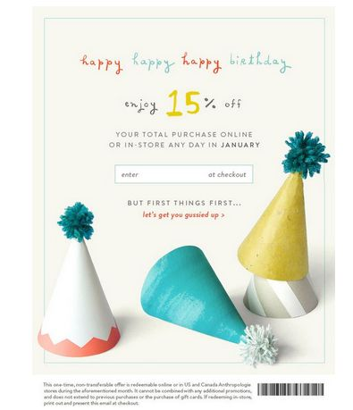 15 best Birthday email templates images on Pinterest