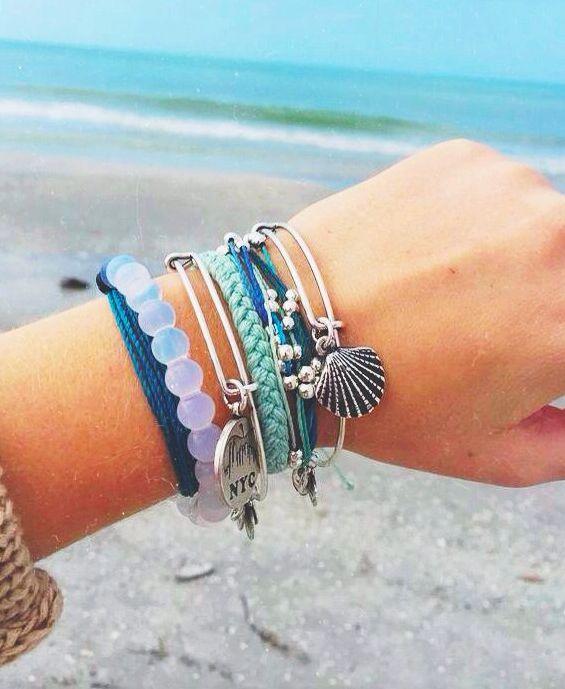 lokai // alex + ani   bangles      rings   jewelry   bangles   nails   manicure   gel polish   metals   bracelets  