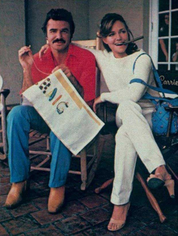 Rare and beautiful celebrity photos | Burt Reynolds and Sally Field