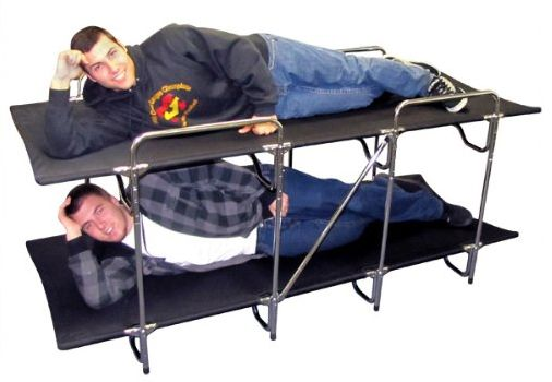 These Camping Cots Let You Quot Rack Em And Stack Em Quot Spring