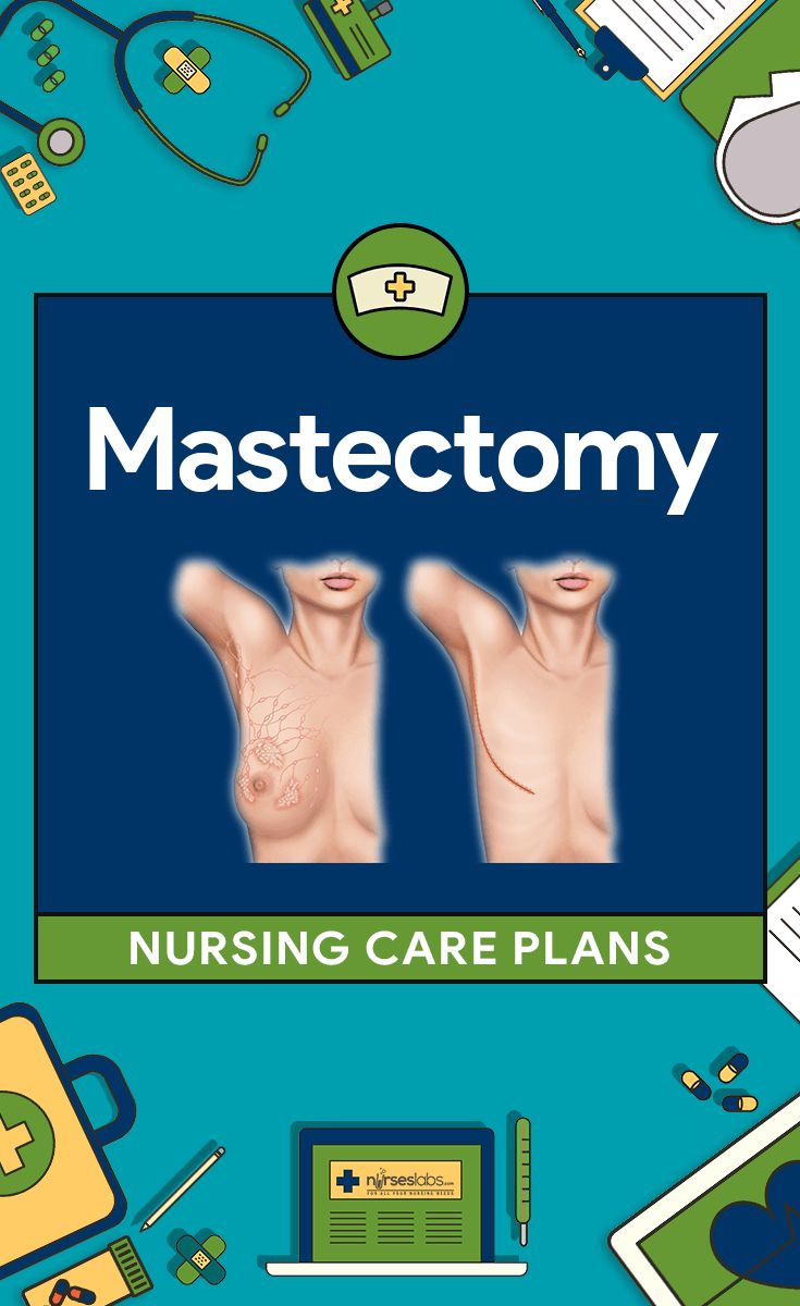 15+ Mastectomy Nursing Care Plans