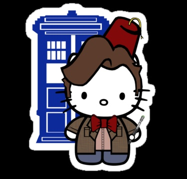 Doctor Who - Hello Kitty Two of my favorite things :-)