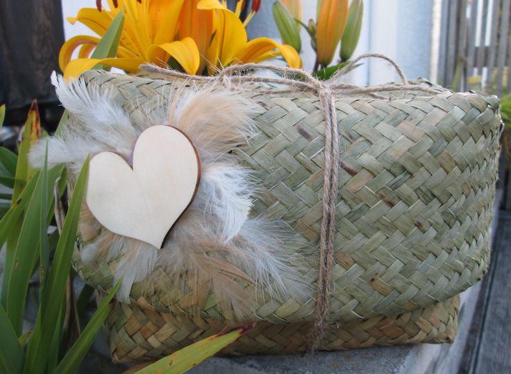 Biodegradable basket for a wee angel x www.earthfriendlyketes.com
