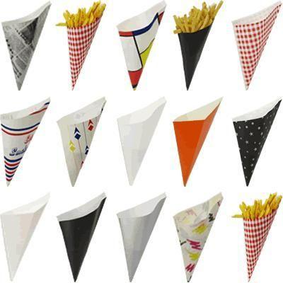 Cómo hacer cucuruchos de papel - fotos y plantillas
