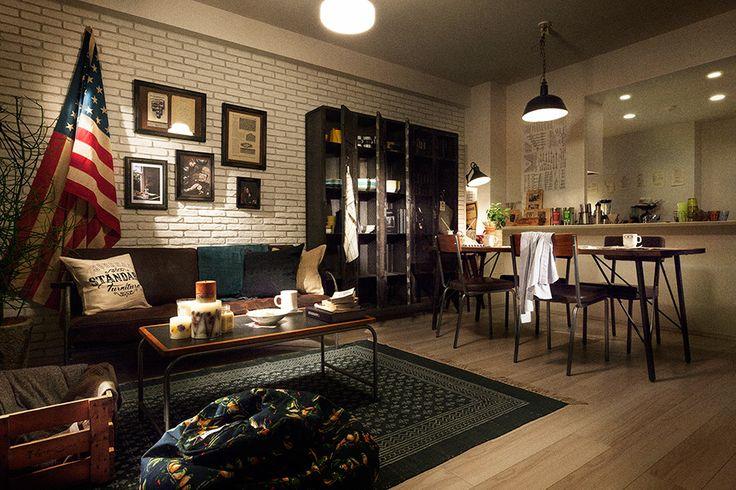 グレーシアシティ川崎大師河原「コラボレーションモデルルーム」 | WORKS | journal standard Furniture